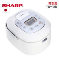 SHARP 夏普 KS-TH18W(WH)电饭煲
