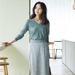 12号预告:女装 精纺美利奴V领针织衫(长袖) 408710 优衣库UNIQLO