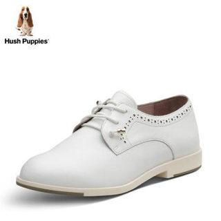 Hush Puppies 暇步士 HKV20AM7 女士休闲鞋 (白色、35)