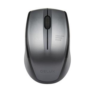 DeLUX 多彩 M321 无线静音鼠标 黑色