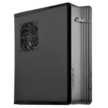 银欣(SilverStone) RVZ01-E小乌鸦1 HTPC机箱 支持ATX电源/水冷迷你ITX