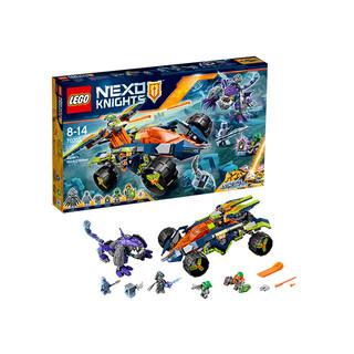 双12预售 : LEGO 乐高 未来骑士团系列 70355 阿隆的攀岩越野战车
