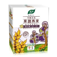 中粮悦活 均衡五色果蔬燕麦片 动力黑 350g