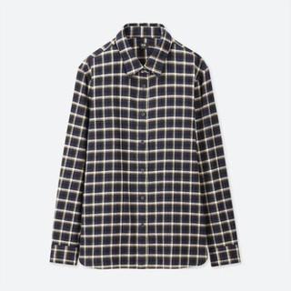 再降价 : UNIQLO 优衣库 412264 女士法兰绒格子衬衫