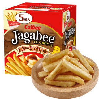 Calbee 卡乐比 薯条三兄弟 黄油酱油味薯条 80g *7件