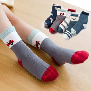 妙优童 秋冬厚款儿童袜子
