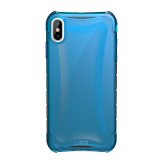 UAG 苹果iPhone Xs Max (6.5英寸)防摔手机壳/保护壳 晶透系列 冰蓝