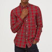 H&M HM0635474 男装长袖衬衫