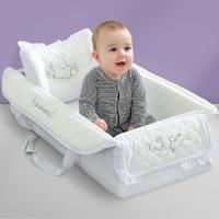 三美婴 便携式婴儿提篮