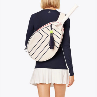 TORY BURCH 汤丽柏琦 canvas tennis sling 女士斜挎包