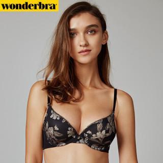 wonderbra WBWBR7F45T 女士文胸 (80C、黑色)