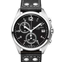 银联专享:HAMILTON 汉米尔顿 Khaki Pilot Pioneer H76512733 男士时装腕表