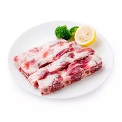 伊赛牛肉 西门塔尔牛肋排段 500g *4件