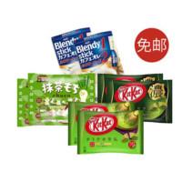 KitKat 雀巢 松尾巧克力+AGF咖啡 8件装
