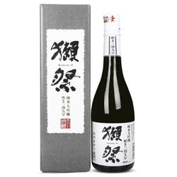獭祭 日本清酒 山田锦 獭祭纯米大吟酿 三割九分 720ml
