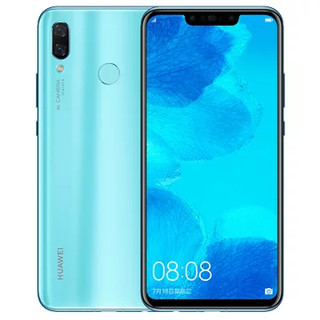 HUAWEI 华为 nova 3 智能手机 6GB+128GB 浅艾蓝