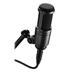 Audio-Technica AT 2020cardioid condenser Studio 麦克风 黑色