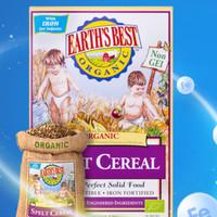 EARTH'S BEST 世界最好 婴幼儿有机高铁辅食米糊 175g
