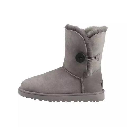 限尺码:UGG Bailey Button II系列 女士中筒雪地靴
