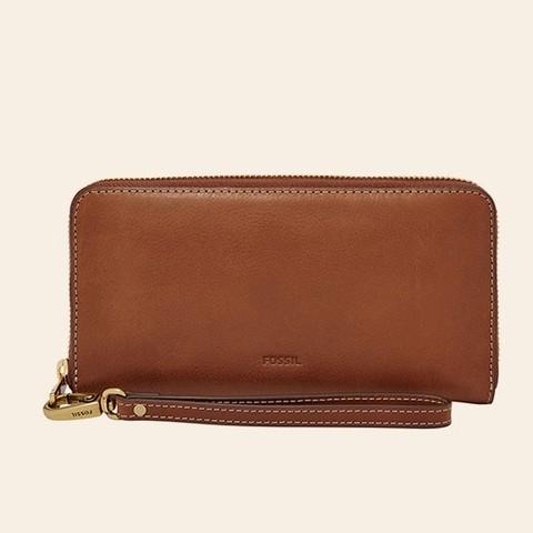 FOSSIL EMMA SL7153336 女士长款钱包