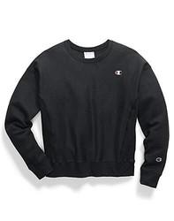 Champion 女式 针织套头衫 GF750-Y06145-Black