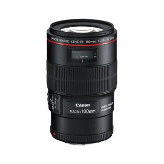 Canon 佳能 EF 100mm F2.8L IS USM 微距镜头 佳能EF卡口 67mm