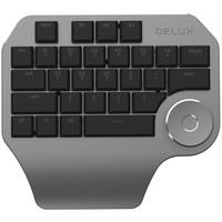 DeLUX 多彩 designer设计师专用键盘 (黑色、普通版)