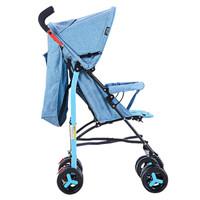 Happy Dino 小龙哈彼 LD399Q-T214 轻便舒适可拆卸可折叠型四轮推车 蓝色