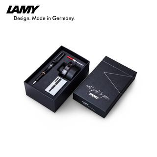 LAMY 凌美 Safari狩猎 钢笔 礼盒套装 (EF尖、亮黑色)