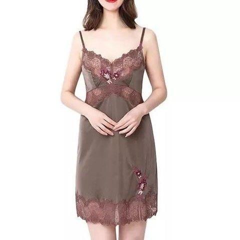 Triumph 黛安芬 10171661 女士蕾丝绣花吊带裙 *3件