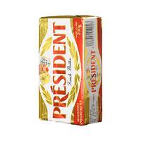 总统 淡味发酵黄油 (盒装、200g)