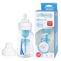 Dr Brown's 布朗博士 宽口聚丙烯(pp)奶瓶 120mL