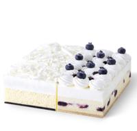 LE CAKE 诺心 牛乳蓝莓雪域 双拼蛋糕 2-4人食
