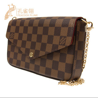 LOUIS VUITTON 路易威登  M61276 2018新款单肩包 棕色老花