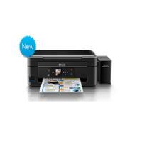 EPSON 爱普生 L485 墨仓式喷墨一体机 (黑色、家庭打印、家庭办公、小型商用、墨水、不支持、USB、A4、打印、复印、扫描)
