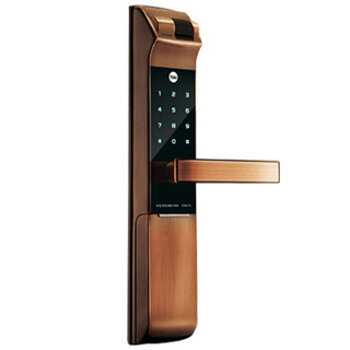 Yale 耶鲁电子锁 YDM4116 指纹锁