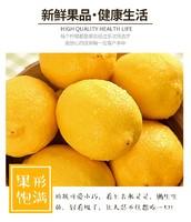 甘福园 四川安岳黄柠檬 6斤