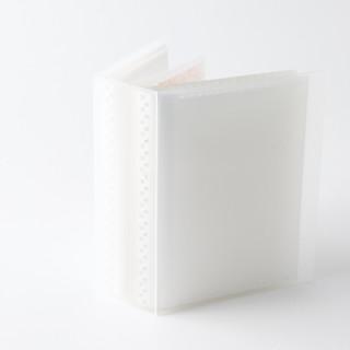 MUJI 无印良品 聚氨酯卡片收纳夹 透明