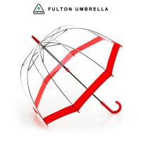 FULTON 富尔顿 女王御用款透明直柄雨伞