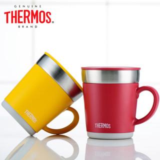 THERMOS 膳魔师 JDC-350  办公保温杯 (350ml、红色)