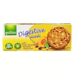 西班牙进口 谷优 葡萄干杏子燕麦 饼干  进口零食 早餐 365g *2件