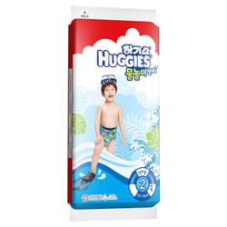 HUGGIES 好奇 宝宝游泳成长裤 L2片 *2件