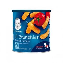 嘉宝Gerber 手指泡芙 田园番茄味 3段 42g 罐装 *6件