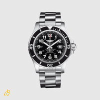 BREITLING 百年灵 A17392D7/BD68 机械手表 (44mm、钢、黑色、圆形)