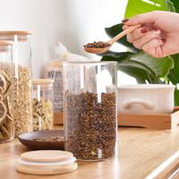 0元购物新方式:大妈鼓励卡购买的第一件商品 百露玻璃带盖储物罐