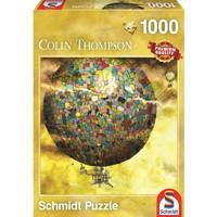 Schmidt spiele 施密特 59400 梦幻热气球 1000片