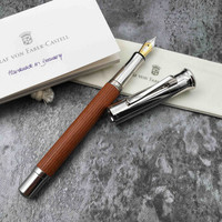 FABER-CASTELL 辉柏嘉 Classic经典系列 木质钢笔 (木质、F尖、巴西苏木(原木色))