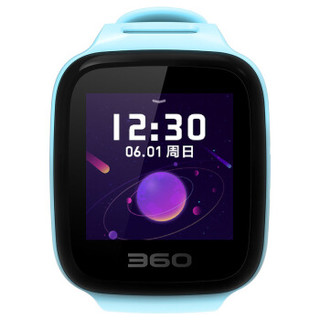 360儿童 W802 儿童手表 7C 蓝色