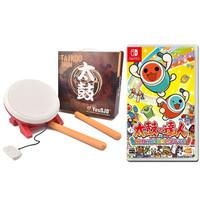 Nintendo 任天堂 马里奥网球套餐 太鼓达人+太鼓 OJO