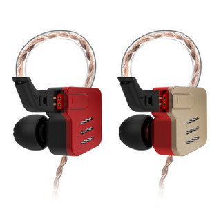 KZ BA10 5单元入耳式耳机 黑焰色